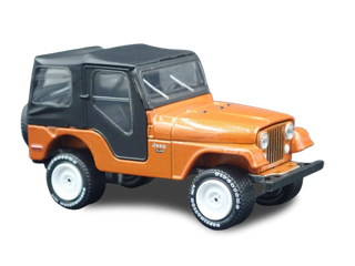944-1986 Jeep Wrangler Cj5 Rare 164 Scale Collectible Diecast Model Car
