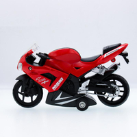 Alloy Diecast & ABS Rubber Motorbike Model Car Toys