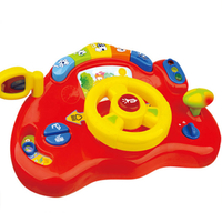 Baby Educational Toy Electric Plastic Steering Wheel Toys