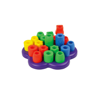 Custom Educational Kid Learning Toys Plastic Building Blocks