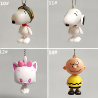 Custom Wholesale Animals PVC Keychain Plastic Key Chain