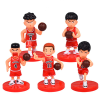 Japan Anime Baketball Player Stars Action Figures Children Kid Gift Collection Toys