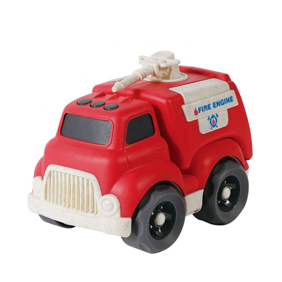 OEM Hot Selling Plastic Promotional Gift Free Wheel Fire Truck Toy