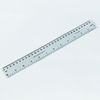 15cm 20cm 30cm Transparent Clear Plastic Scale Ruler