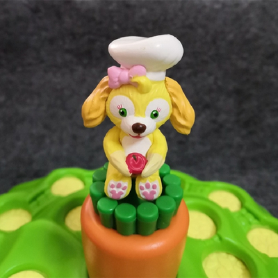 Small Hot Plastic Movie Cartoon Dog Toy Figure, Action Cartoon Figures