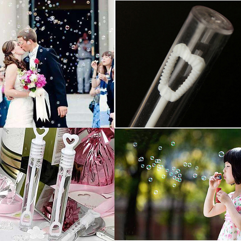 Lovely Transparent Wedding Party Birthday Party Bubble Bottles Mini Bubble Bottle Toys