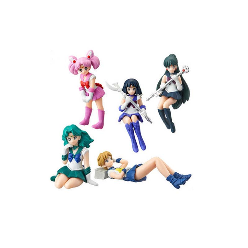 Cartoon PVC Toys Miniature Anime Action Figure Promotional Gift Sailor Moon Action Figure
