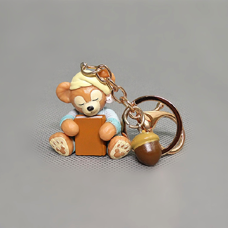 Plastic Custom Bear/PVC Rabbit Keychain