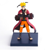 Super Cool Plastic Material Naruto Anime Action Figures Cheap Cartoon Figures for Collection