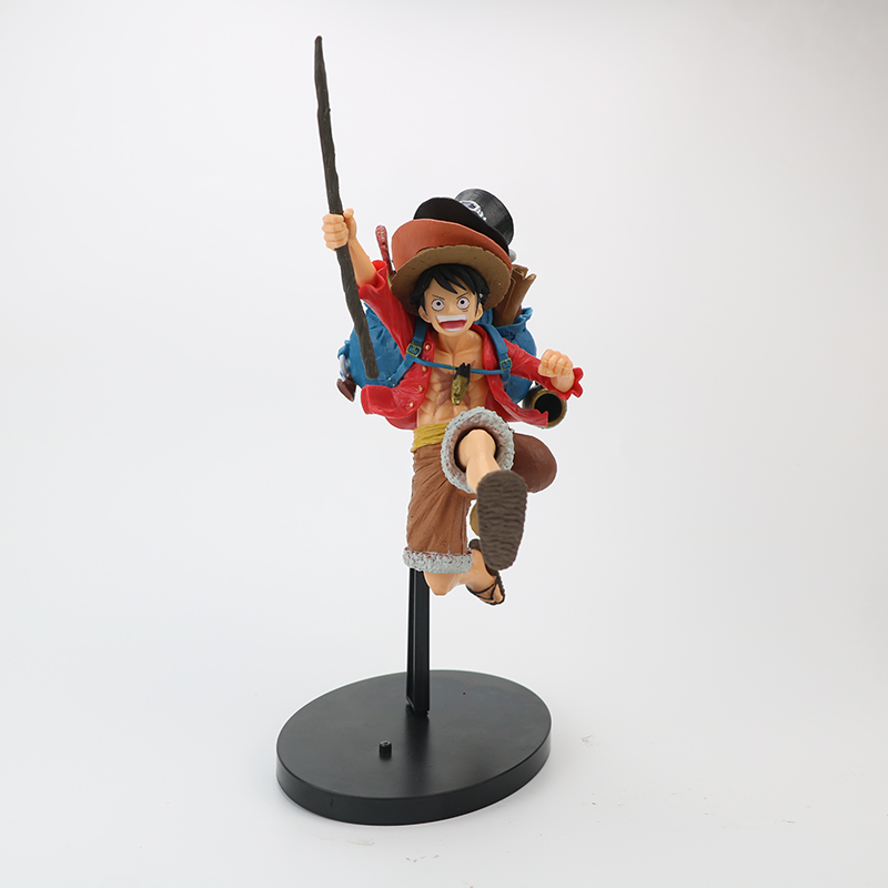 High Quality Promotional One Piece Story Age Monkey D Luffy Anime Action Figure Luffy