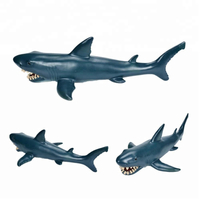 Funny Mini Vinyl Toy Figure Plastic Injection PVC Shark Animals Toy Action Figures for Kids