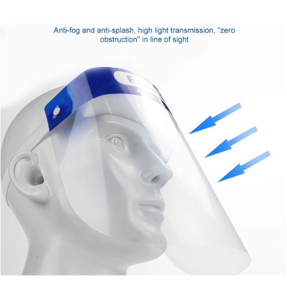 Disposable Fog Face Splash Protective Full Guard Safety Face Visor Shield