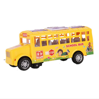 China Manufacture Wholesale Transportation Toys Yellow School Bus Toys for Children Gift