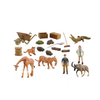 Non-Toxic Wild Animal Toy For Horse Tiger Lion PVC Figure Wild Animals